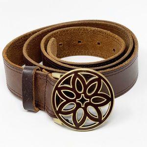 American Eagle Genuine Leather Boho Belt